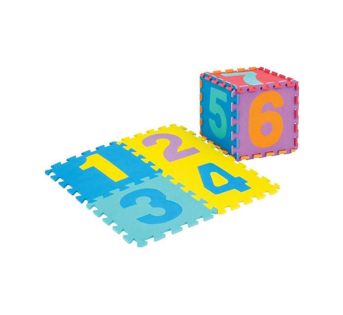 10 piece Number EVA Floor Mat