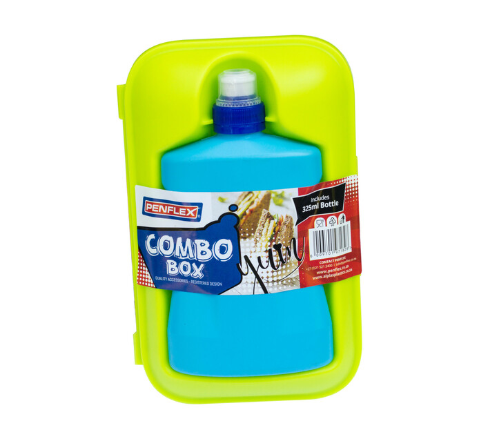Penflex Lunch Box and Bottle