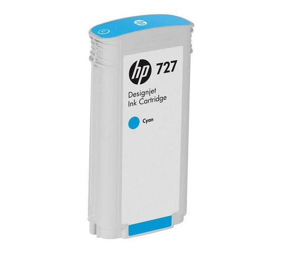 HP 727 - high capacity - dye-based cyan - original - ink cartridge