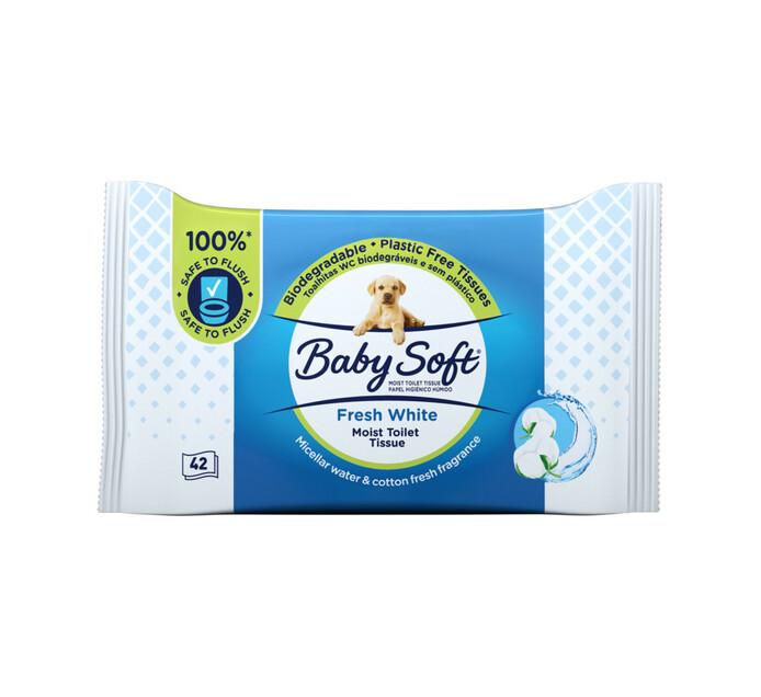 Baby Soft Bath Tissue Refill Moist (1 x 42's)