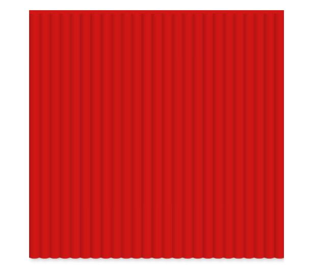 3Doodler Red Flexy Plastic Strands