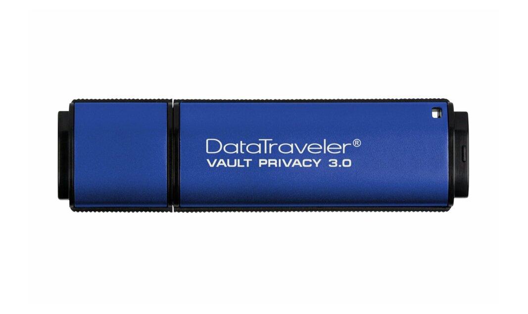 Kingston DataTraveler Vault Privacy 3.0 - USB flash drive - 32 GB