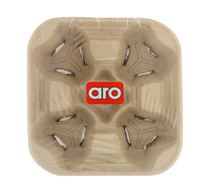 ARO 4 Cup Cardboard Carrier (1 x 5's)