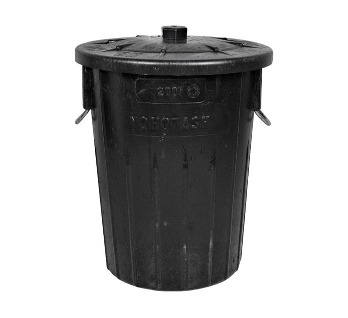 BIG JIM 90 l No Ash Garbage Bin