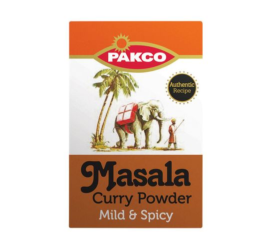 Pakco Curry Powder Mild And Spicy Masala (1 x 200g)