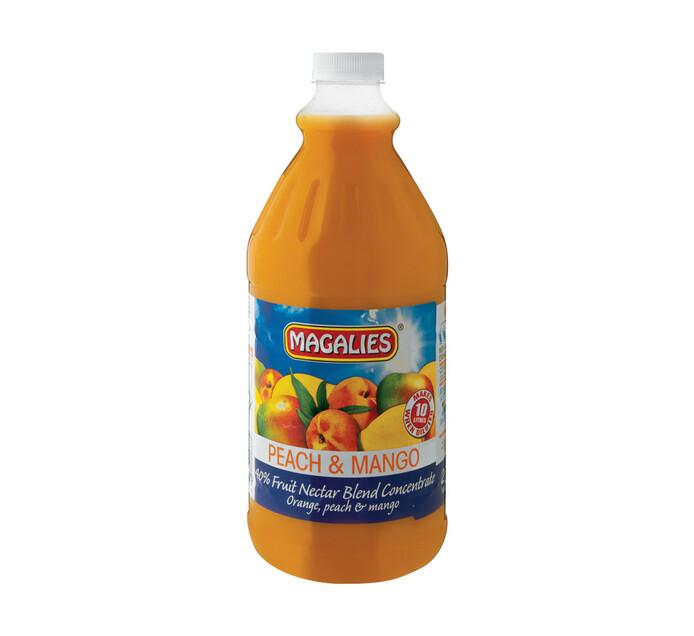 Magalies Concentrates Peach Mango (1 x 2L)