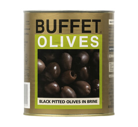 BUFFET Olives Black Pitted (1 x 3.05kg)