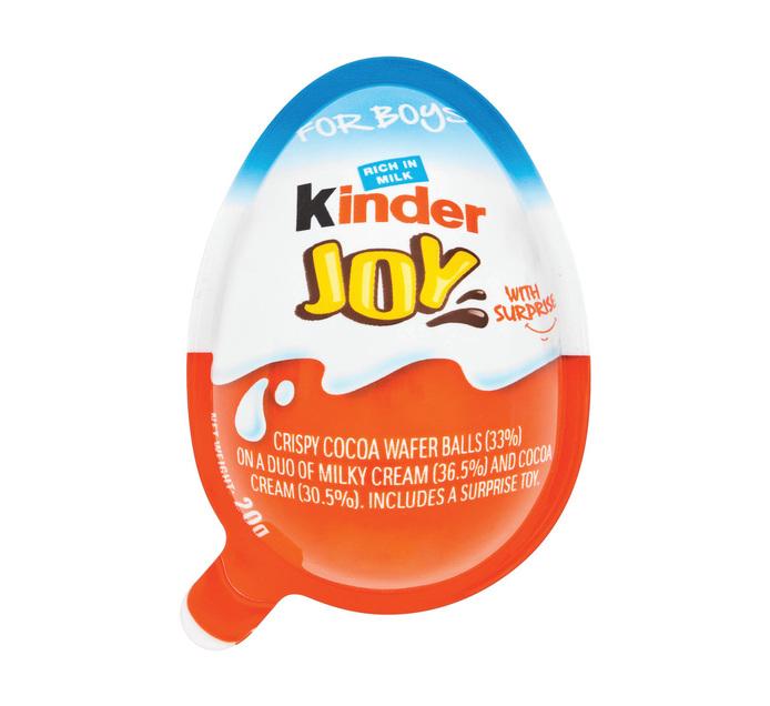 Kinder Joy Chocolate  Egg T1 Boy (21g)