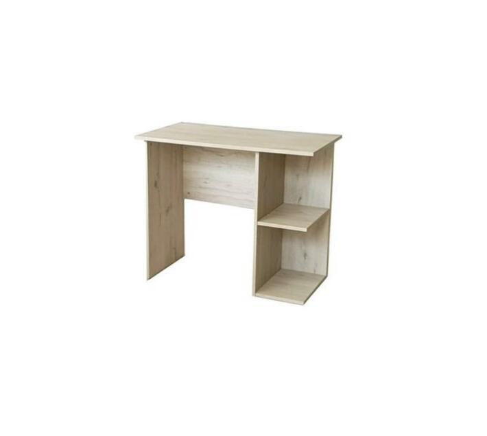 Study Desk with 2 Tier Side Shelf