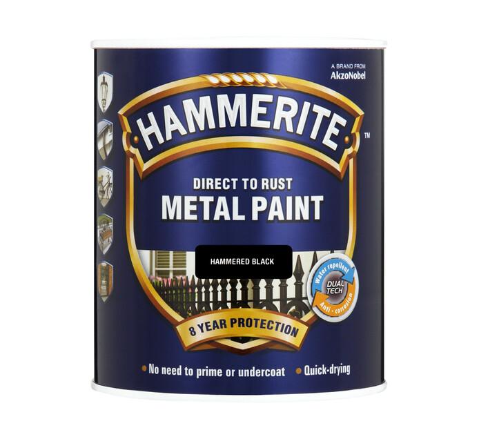 Hammerite 500ml Metal Paint Black