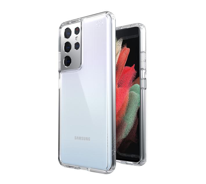 Speck Presidio Perfect Clear Case - Samsung Galaxy S21 Ultra (Clear)