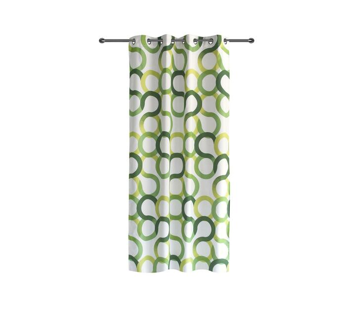 easyhome Aros Green eyelet curtain 140 x 260cm