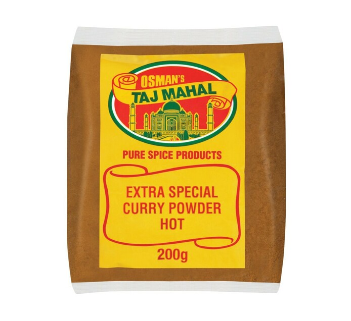 OSMANS CURRY PWDR HOT EXTRA SPEC 200G