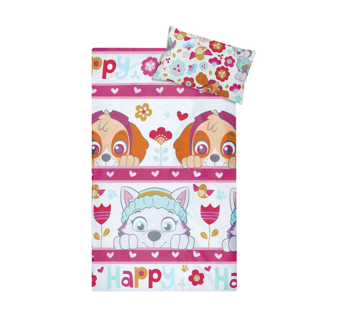 Character Single Duvet Cover Paw Patrol Pink