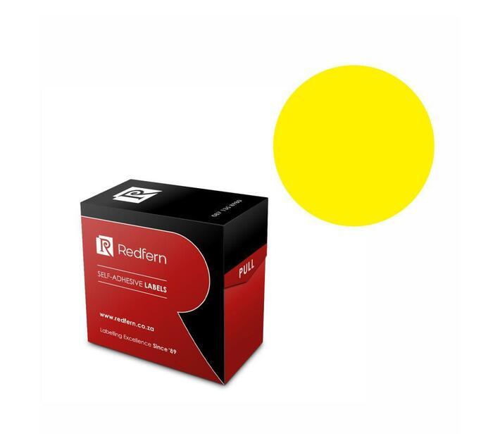 Redfern Self-Adhesive Colour Codes - C32 Yellow