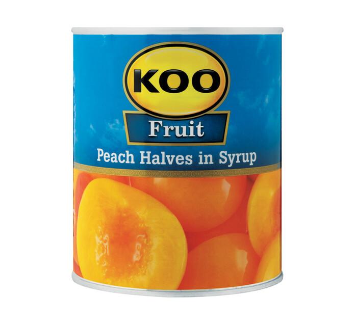KOO Peach Halves (6  x 825g)