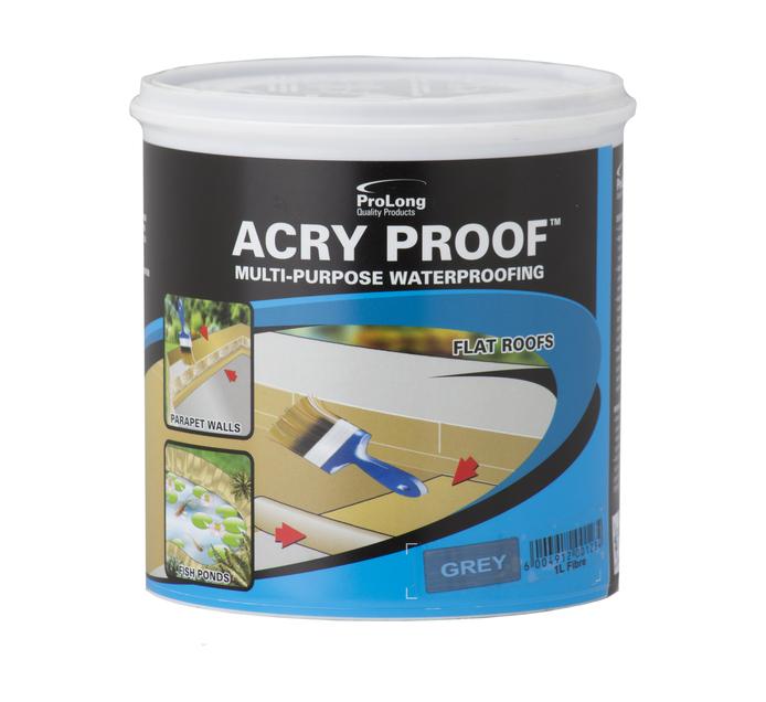 Pro-master 1L Waterproofing Grey