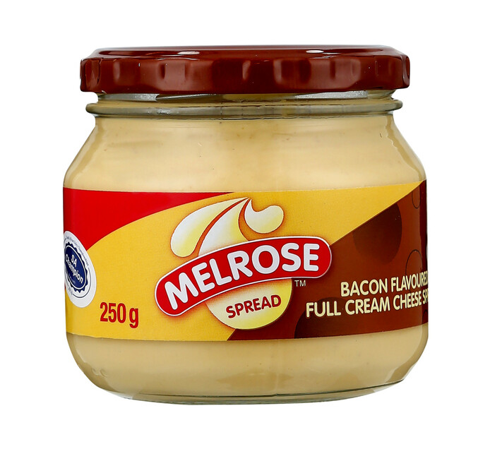 Melrose Cheese Spread Bacon (1  x 250g)