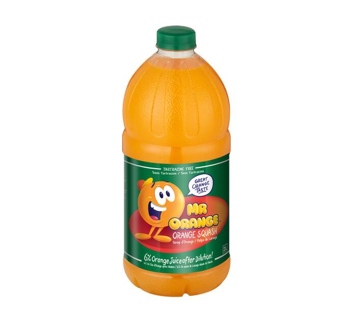 Mr Orange Squash Orange (1 x 2l)