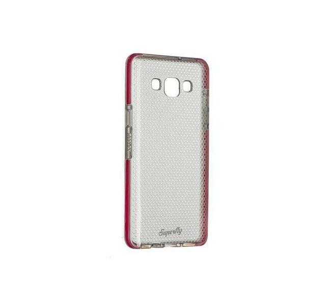 Superfly Soft Jacket Reflex Samsung Galaxy A5 Cover (Pink/Clear)