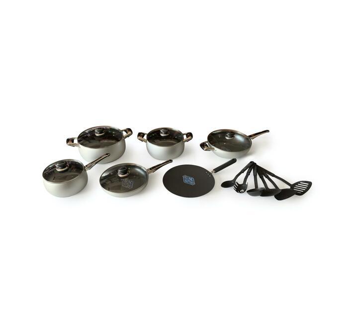 KITCHEN CHEF TEFLON Non-Stick Cookware 18 pcs Value set
