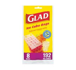 GLAD Glad Ice Cube Bags (1 x 8's)