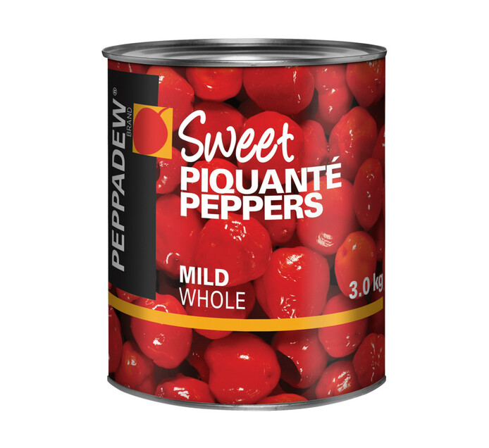 PEPPADEW PIQUANTE PEPPERS WHOLE 3KG