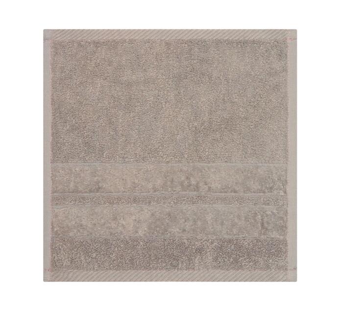 Glodina Zero Twist Face Cloth Warm Stone
