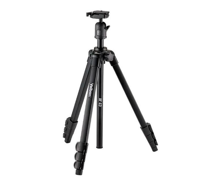 Velbon M43 Tripod with Photographic Ball Head - Black
