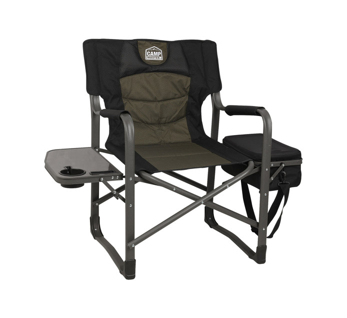 Campmaster Savannah Director Chair With Cooler Camping Chairs