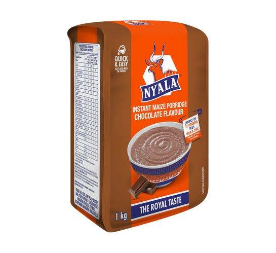 Nyala Instant Breakfast Porridge Chocolate (10 x 1kg)