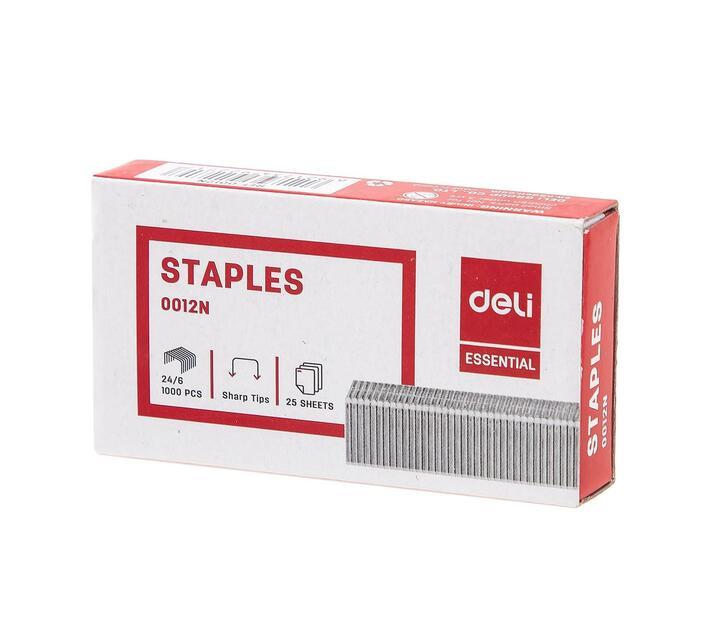 Deli Stationery Staples Staple - 24/6 Asst.