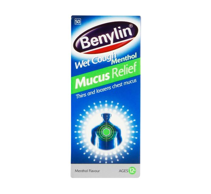 Benylin Cough Mixture Menthol Mucus (1 x 50ml)
