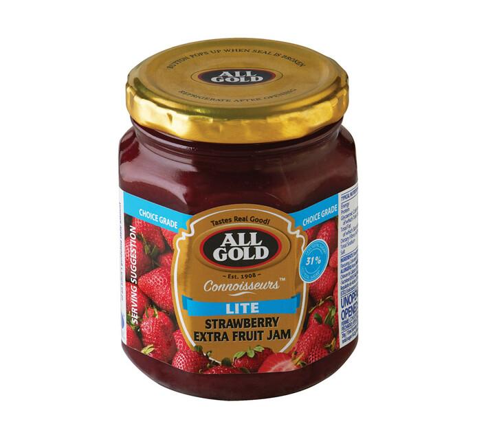 All Gold Lite Connoisseur Jam Strawberry (1 x 300g)