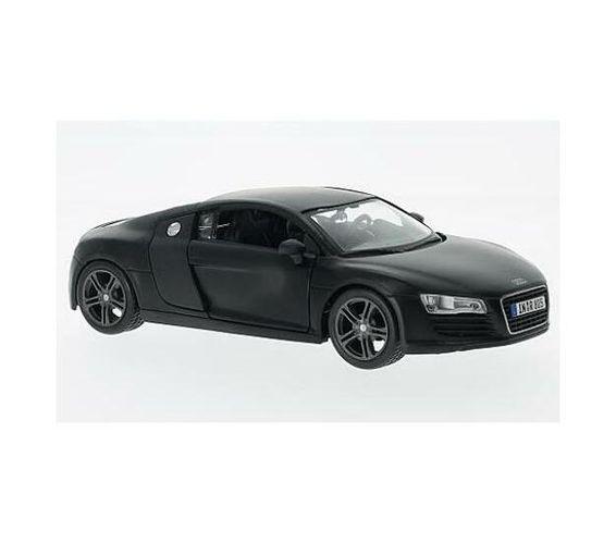 Audi R8 matt Black (scale 1 : 24)