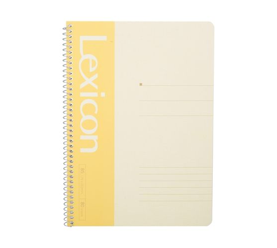 Deli Stationery Wire Bd. Softcover Notebook 80P-B5 Asst.