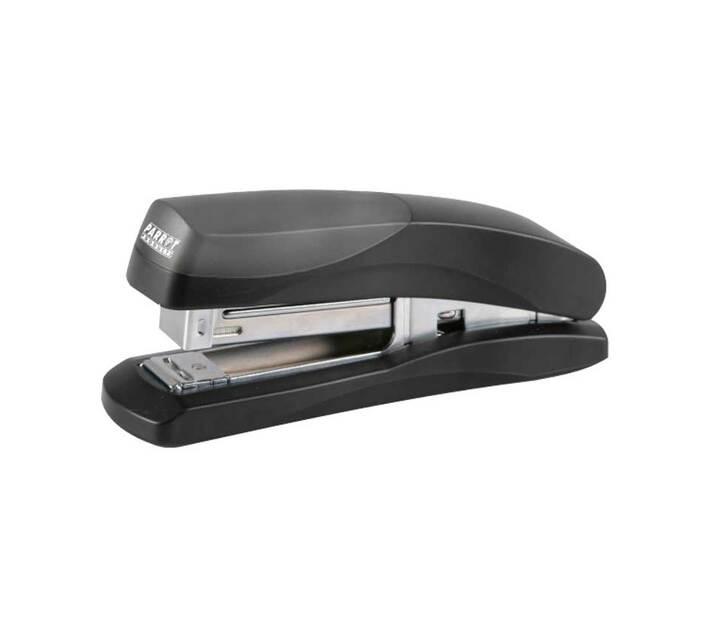 PARROT PRODUCTS Plastic Medium Desktop Staplers 105*(24/6 26/6), Black 20 Pages