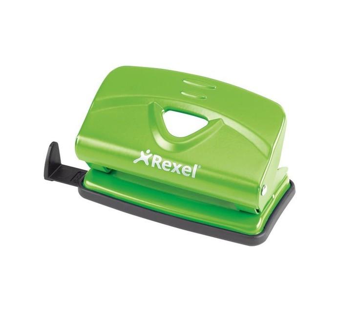 Rexel V210 10 Sheets Punch Green Each Green