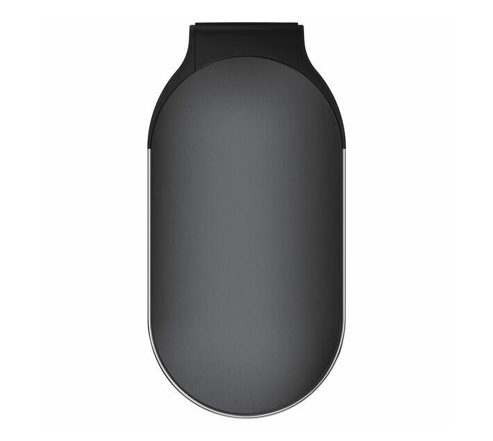 SIMPLE HUMAN 45L Slim Pedal Bin - Black Stainless Steel