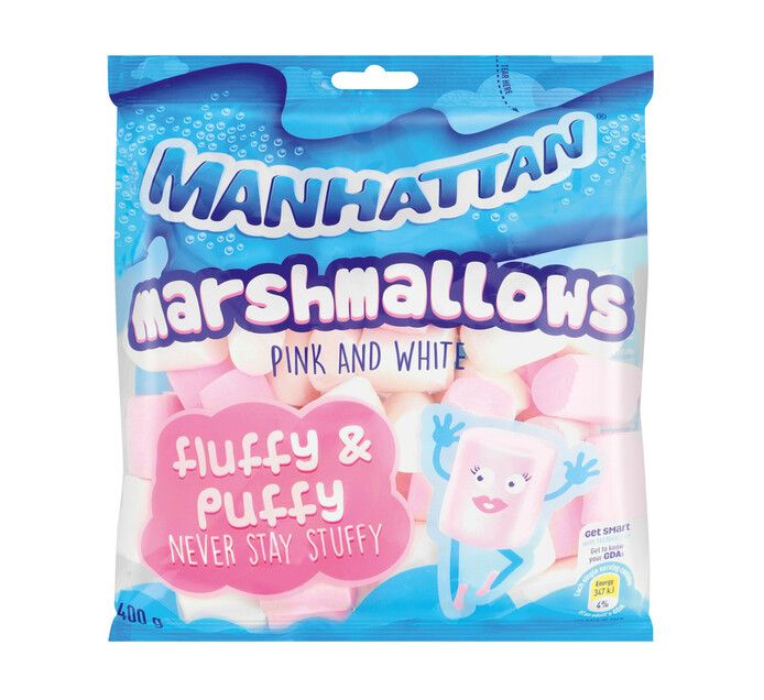 MANHATTAN MARSHMALLOWS 400G