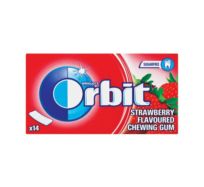 Orbit Sugar Free Gum Strawberry (12 x 14PC)