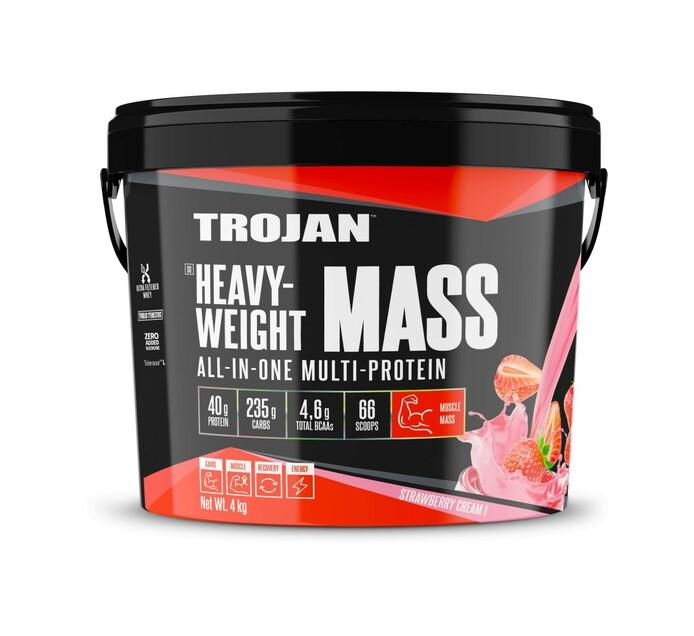Trojan 4 kg Heavy-Weight Mass Strawberry Cream