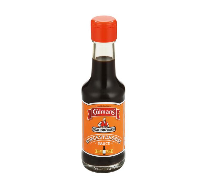 Colmans Holbrooks Sauce Worcestershire (6 x 125ml)