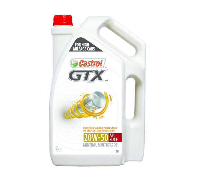 Castrol 5 l GTX 20W-50