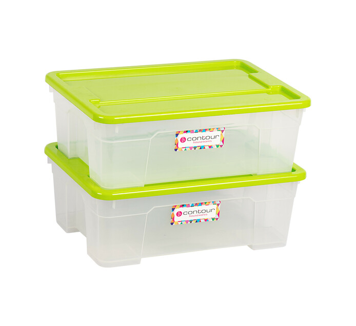 Buzz 11 l Contour Storage Boxes 2-Pack