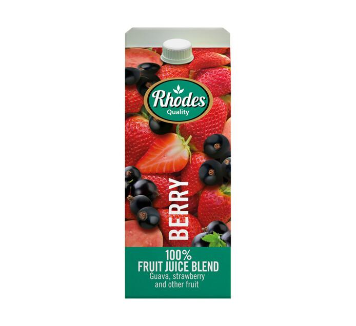 Rhodes 100% Fruit Juice Blend Berry (6 x 2l)