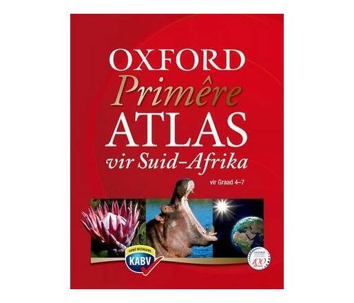 Primere atlas vir Suid-Afrika CAPS: Gr 4 - 7: Leerdersboek