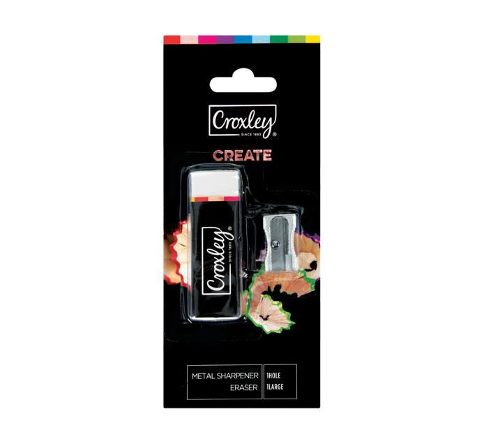 Croxley Create Eraser and Sharpener