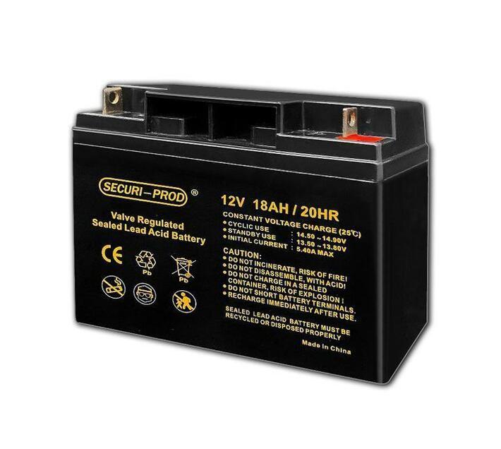 Securi-Prod Battery 12V 18AH SLA