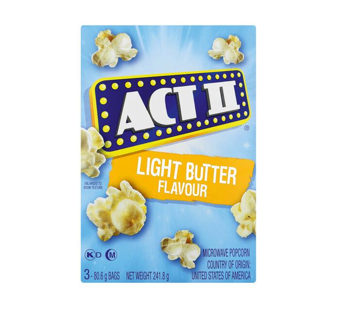 Act 11 Microwave Popcorn Light Butter (1 x 242g)
